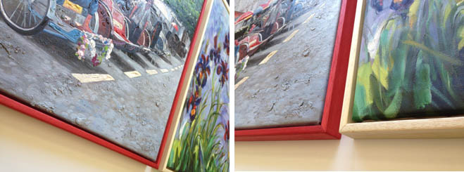 Stretching and framing a canvas.. « Frames « Uckfield Framing ...