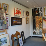 Inside the Uckfield Framing Company gallery...
