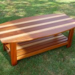 A stripey coffee table by Des