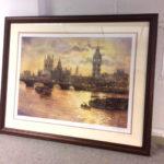 Framed print by E R Sturgeon